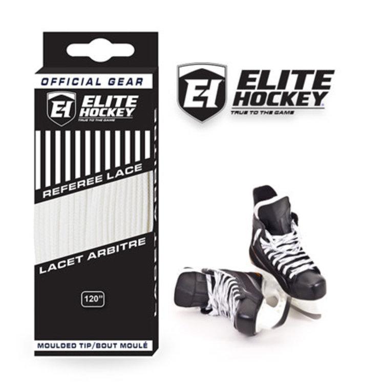 Elite Hockey Elite Hockey Pro Lace Referee - All White