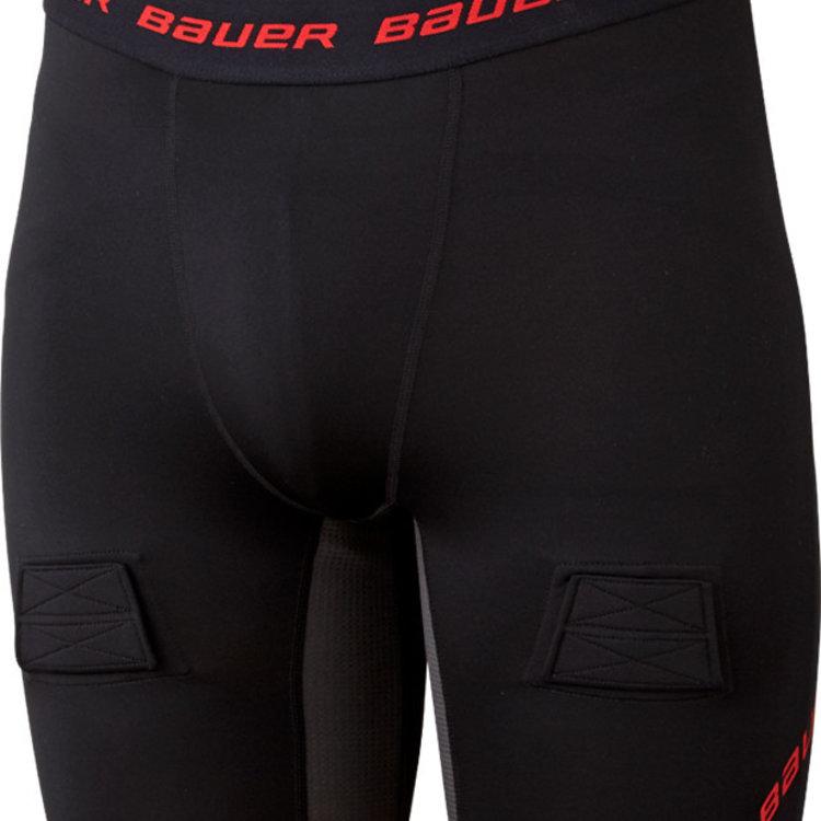Bauer Bauer S19 Essential Compression Jock Short - Youth