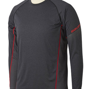 Bauer Bauer S19 Essential Long Sleeve Base Layer Top - Youth