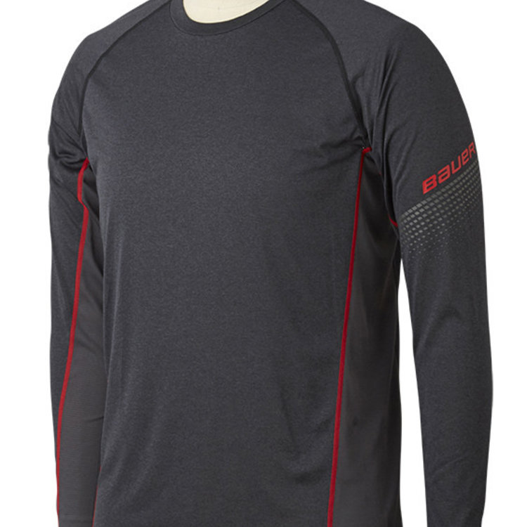 Bauer Bauer S19 Essential Long Sleeve Base Layer Top - Senior