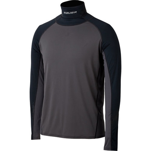 Bauer Bauer S19 Long Sleeve NeckProtect Top - Senior