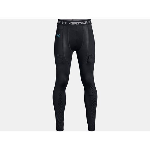Under Armour S19 Hockey Fitted Pant - Black - Youth