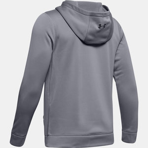 Under Armour S19 UA Hockey Hoody - Steel Full Heather - Youth