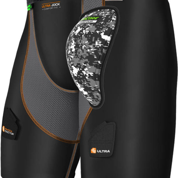 Shock Doctor Shock Doctor Ultra Compression Hockey Short with AirCore Hard Cup - Adult