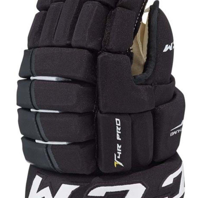 CCM CCM S17 Tacks 4 Pro Roll Hockey Glove - Senior