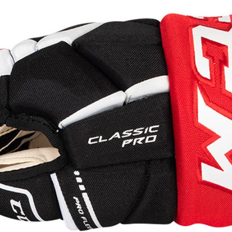 CCM CCM S19 Classic Pro Tacks Hockey Glove - Junior