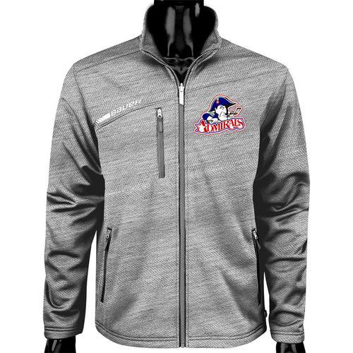 Bauer Admirals Hockey Club - Bauer S19 Flex Full Zip Tech Fleece - Adult