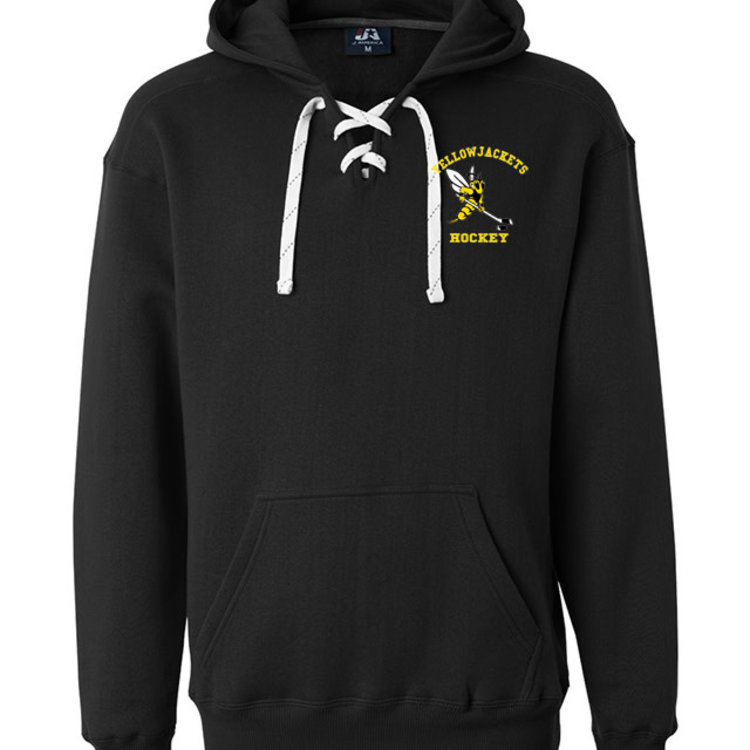 Yellowjackets - J America S19 Hockey Lace Hoodie