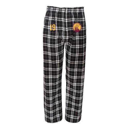 Loyola Academy Hockey Club - PRE BUY - Boxercraft Flannel Pants with Pockets - Adult