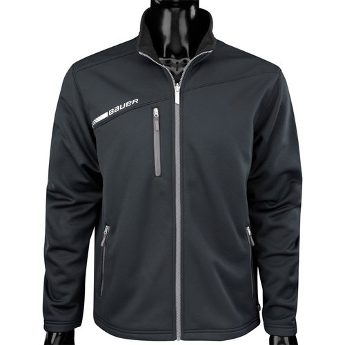 Bauer Bauer S17 Flex Full Zip Tech Fleece - Mid Layer Option - Senior