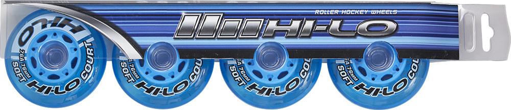 HI-LO S19 Court 76A Wheels Set of 4