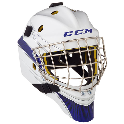 CCM CCM S20 AXIS A1.5 Goal Helmet - Custom Decal - Junior