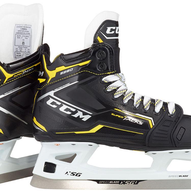 CCM CCM S20 Super Tacks 9380 Goal Skate - Junior