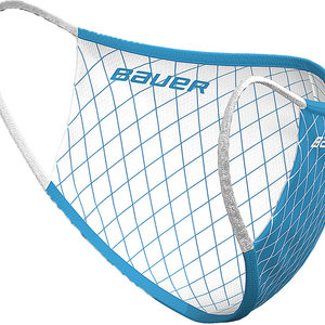 Bauer Bauer S20 Reversible Face Mask - Blue/White