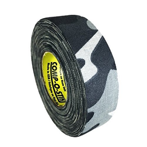North American North American Hockey Tape - 1-Inch x 20 Yards - Winter Camo - Thin