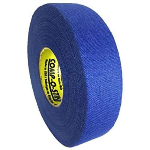 North American North American Hockey Tape - 1-Inch x 27 Yards - Royal Blue - Thin