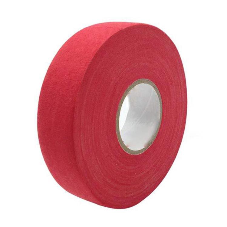 North American North American Hockey Tape - 1-Inch x 27 Yards - Red - Thin