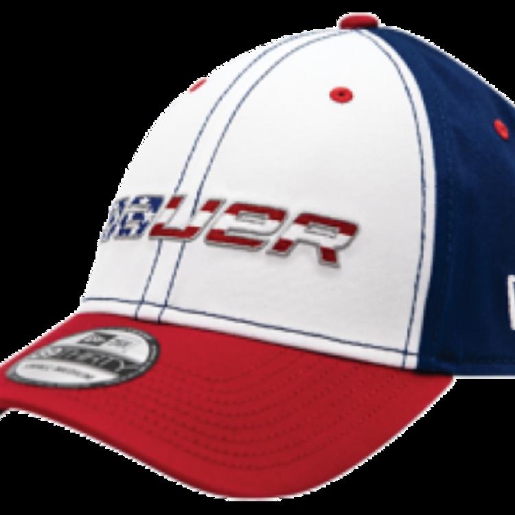 Bauer Bauer S18 New Era 3930 USA Flag Cap