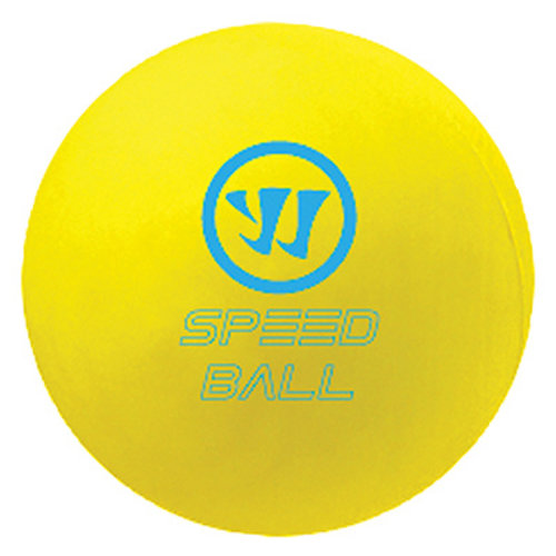 Warrior Warrior Mini Hockey Speed Shinny Ball - Yellow