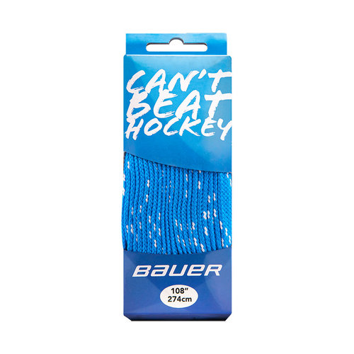 Bauer Bauer S20 Can't Beat Hockey - Skate Lace - Blue