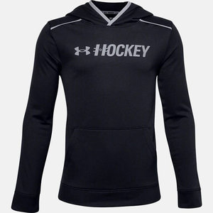 Under Armour S20 Hockey Graphic Hoody - Youth - Black