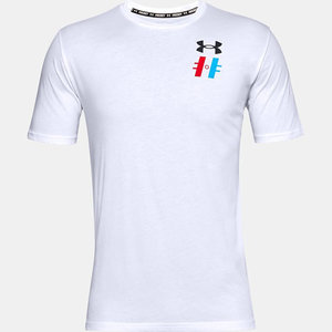 Under Armour S20 Hockey Graphic T1 Short Sleeve Tee - Adult - White