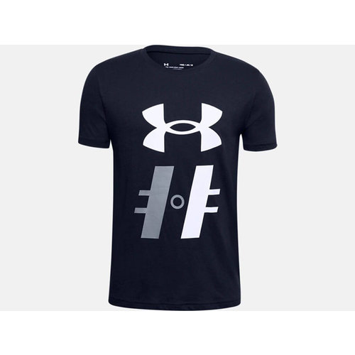 Under Armour S20 Hockey Graphic T1 Short Sleeve Tee - Youth - Navy