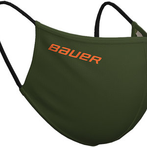 Bauer Bauer S20 Reversible Face Mask - Green/Camo
