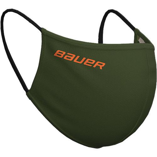 Bauer Bauer S20 Reversible Face Mask - Green/Camo