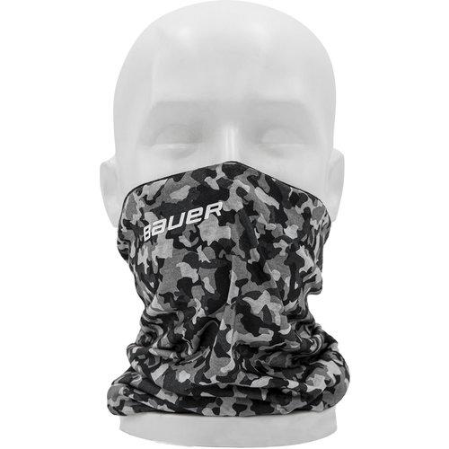Bauer Bauer S20 Reversible Gaiter Face Mask - Black/Camo