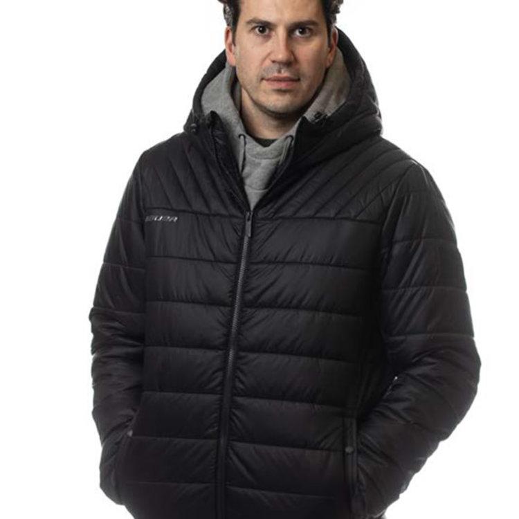 Bauer Bauer S20 Supreme Hooded Puffer Jacket - Senior