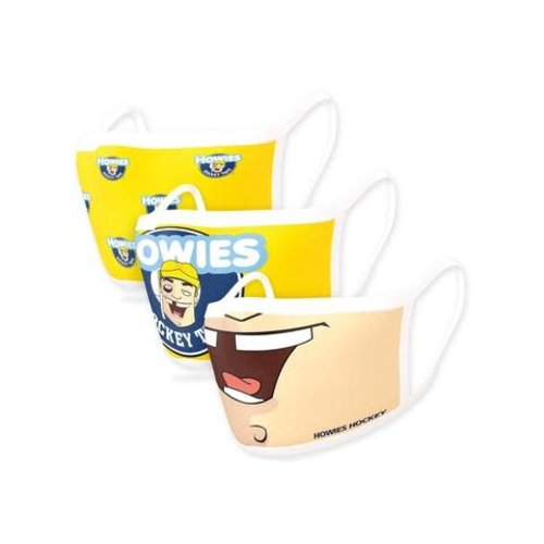 Howies Hockey Howies Hockey - Howies Face Mask - 3-Pack