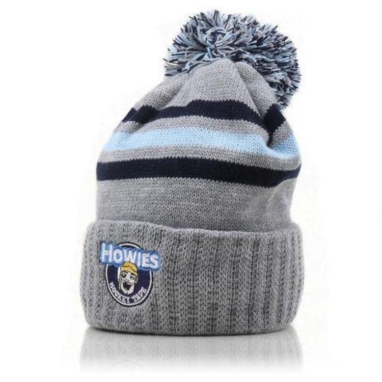 Howies Hockey Howies Hockey Blizzard Bucket Pom Knit Hat