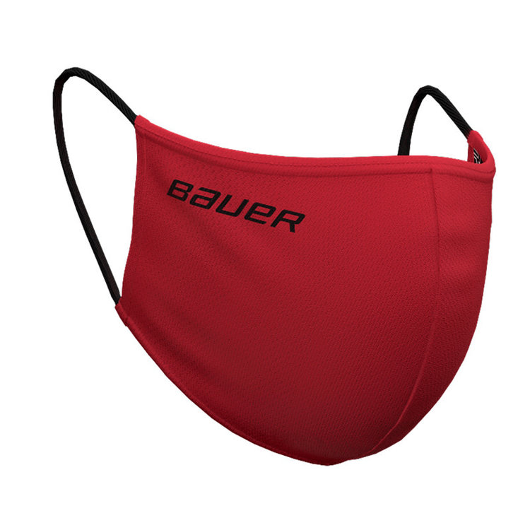 Bauer Bauer S20 Reversible Face Mask - Red/Bauer