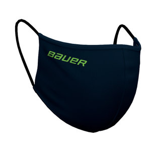 Bauer Bauer S20 Reversible Face Mask - Navy/Tie Dye