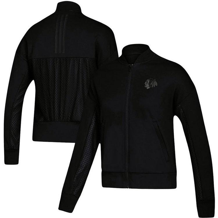 Adidas Adidas ID Mesh Bomb Women's Jacket - Chicago Blackhawks