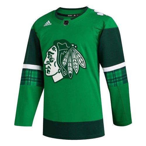 Adidas Adidas S20 Chicago Blackhawks St Patrick's Hockey Jersey