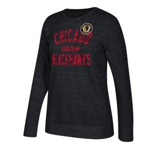 Adidas Adidas Chicago Blackhawks CCM Comfy Crew Fleece - Woman's