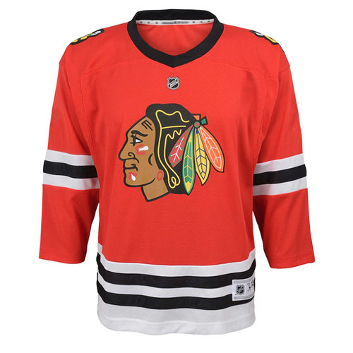 CCM/ OuterStuff CCM S17 Outerstuff Chicago Blackhawks Screened Hockey Jersey - Youth