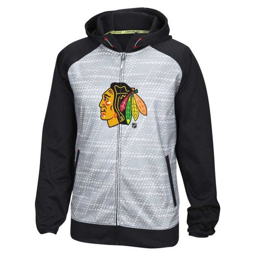 CCM CCM S16 Chicago Blackhawks LTONX TNT Full Zip Hoodie - Senior