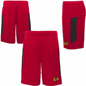 CCM S17 Outerstuff Chicago Blackhawks Automation Short - Youth