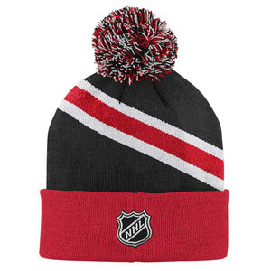CCM/ OuterStuff CCM/ OuterStuff - S20 Power of 31 Knit Pom - Chicago Blackhawks - Youth