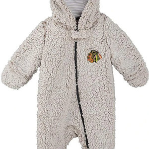 CCM/ OuterStuff CCM S20 OuterStuff Game Nap Fleece Teddy - Chicago Blackhawks