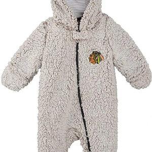 CCM/ OuterStuff CCM S20 OuterStuff Game Nap Fleece Teddy - Chicago Blackhawks