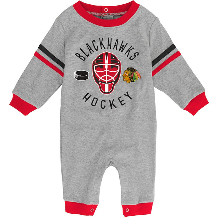 CCM/ OuterStuff CCM S20 OuterStuff Masked Defenders Long Sleeve Coverall - Chicago Blackhawks