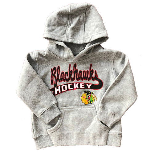 CCM/ OuterStuff CCM/ OuterStuff Chicago Blackhawks Clean Sweep Fleece Hoody - Toddler