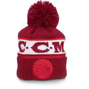 CCM CCM S20 Heritage Bottle Cap Pom Knit