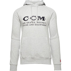 CCM CCM S20 Heritage Logo Fleece Hoody - Adult