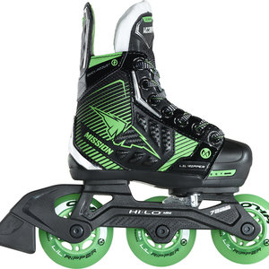 Bauer S21 Mission Lil Ripper Adjustable Inline Hockey Skate - Youth