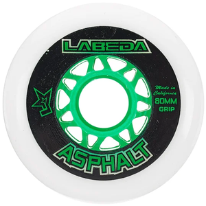Labeda Labeda Asphalt Outdoor Wheel - 83a - 4 Pack - White
